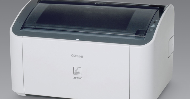 Install Canon LBP2900B Printer Drivers For MacOS Mojave